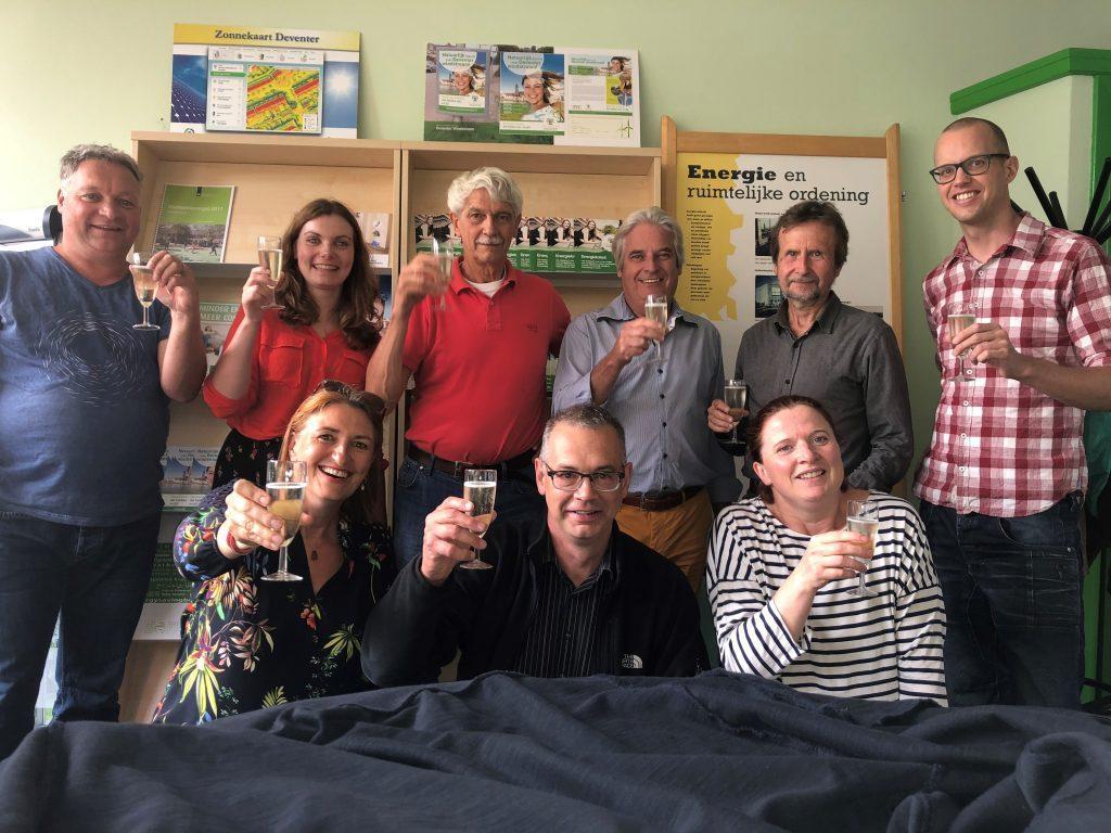 vrijwilligers Duurzaamheidscentrum Deventer