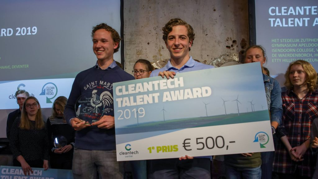 Cleantech Center -Talent-Award