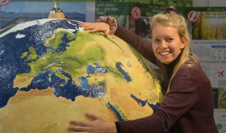 Wereldbol Duurzaamheidscentrum