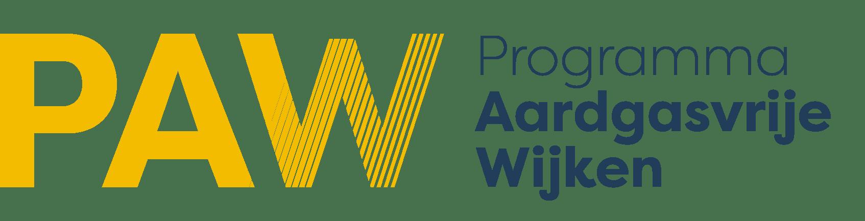 PAW Programma Aardgasvrije Wijken